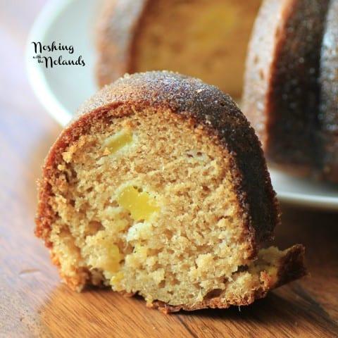 Mango Brown Sugar Glazed Bundt by Noshing With The Nolands