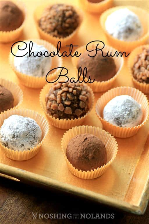 Chocolate Rum Balls by Noshing With The Nolands