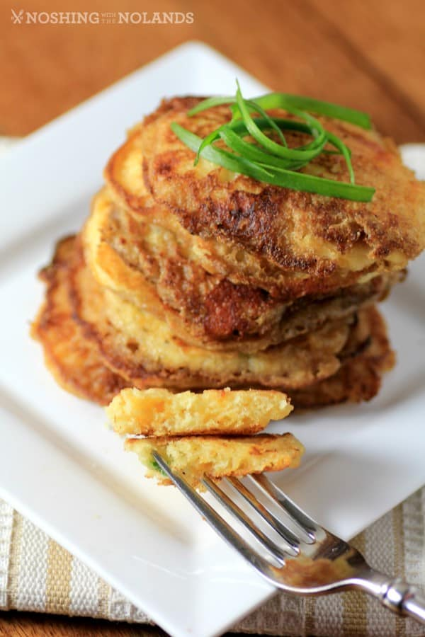 Cornmeal Griddle Cakes by Noshing With The Nolands