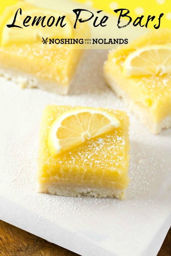 Lemon Pie Bars single pin (Custom)