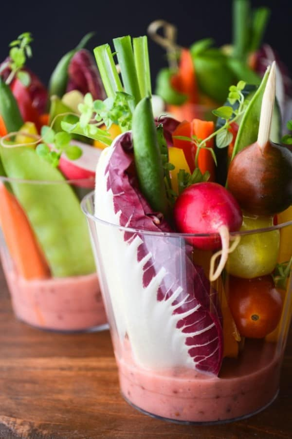 Individual Salad Cups with Rhubarb Vinaigrette by View from Great Island (Custom) (2)