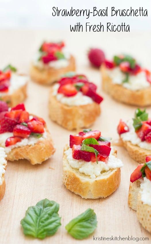 Strawberry-Basil-Bruschetta-with-Fresh-Ricotta-a-perfect-appetizer-for-summer-Kristines-Kitchen-4053wm
