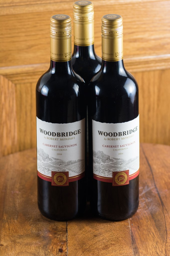 3 Bottles os Woodbridge by Robert Mondavi Cabernet Sauvignon