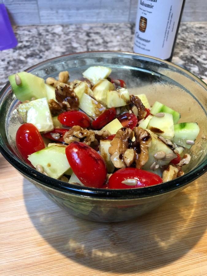 Low Carb Vegan Salad [Gluten Free]