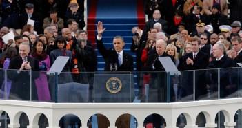 Obama Inauguration Speech, Img courtesy Huffington Post