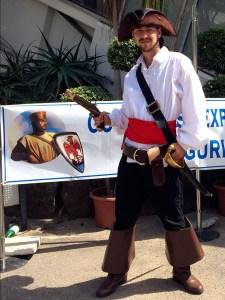 Capt Jack Sparrow, at Exposition Figuri'Nice 2014