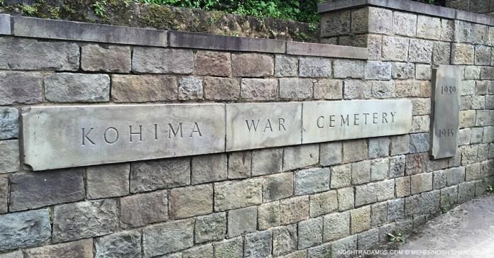 Kohima War Cemetary Entrance