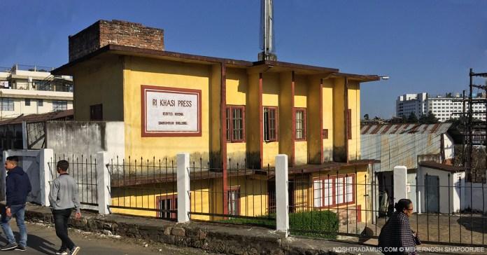 Ri-Khasi Press - The oldest printing press in Shillong