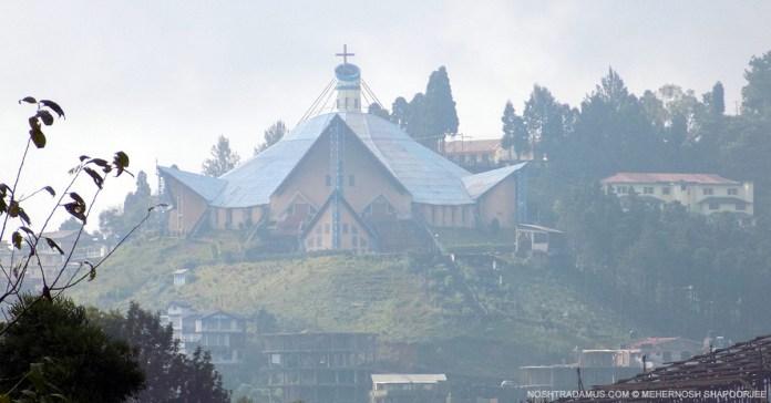 The Catholic Cathedral in Kohima, Nagaland