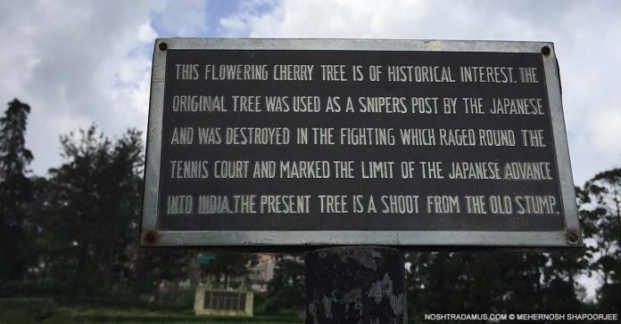 Kohima War Cemetary Battle of the Tennis Court