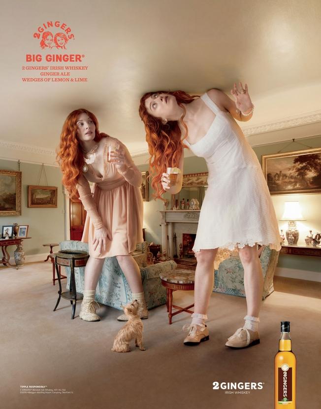 2 Gingers Irish Whiskey - Big Ginger