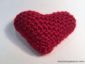 Corazón tejido.