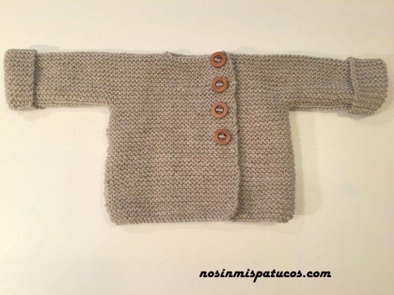 95d98418f0b Sweater Para Bebe Tejido En Lana Terminado A Crochet - Classycloud.co