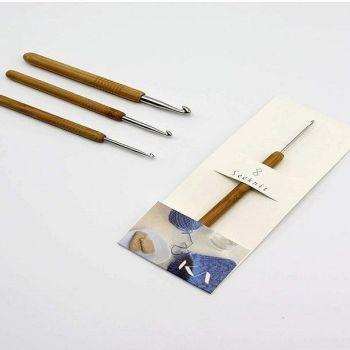 Crochet con punta de aluminio
