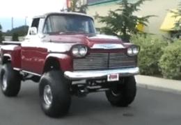 Nice 59 Chevy 4x4