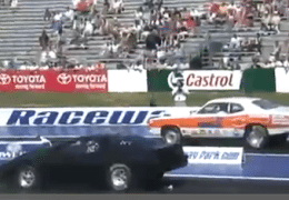Dodge Dart vs Pontiac Trans Am