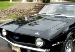 sweet '69 Convertible Camaro