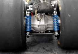 Dragster rear axle