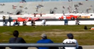 Raceway Park Drag Race
