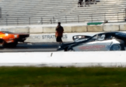 Camaro loss drag racing