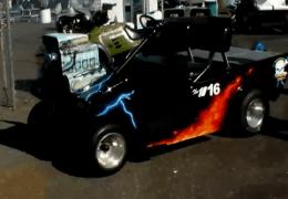 Top Fuel Pit Cart