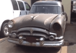 Barn Find Packard Hearse