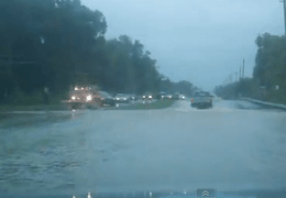 Flood Drive Thru