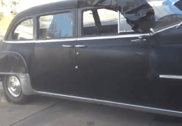 Barn Find Early Chrysler Windsor Limousine