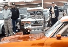 Twin Blown Pontiac GTO