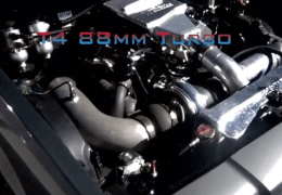 T4 88mm Turbo on a stock suspension 3300 pounds