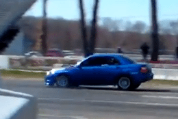 Fastest AWD Import of the day at Englishtown