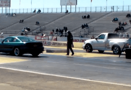 Time trial Drags Ford vs Ford