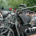 Tank Engine Bike