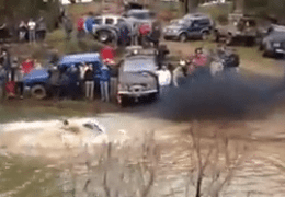 Mud Bog Epic Fail