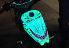 Custom Chopper Paint