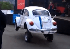 Dancing VW Beetle