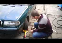 How to remove a wheel lock