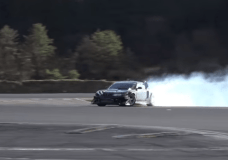 The 4 Turbo 2JZ Supra engine swapped Nissan Silvia drift testing