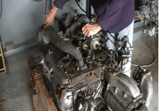Opposed engine