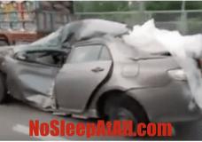Demolished Car
