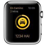 Primera app de taxis disponible para el Apple Watch