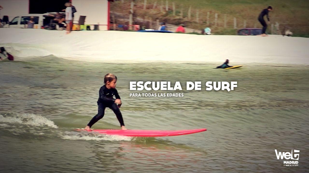 Escuela de Surf en Wet Madrid