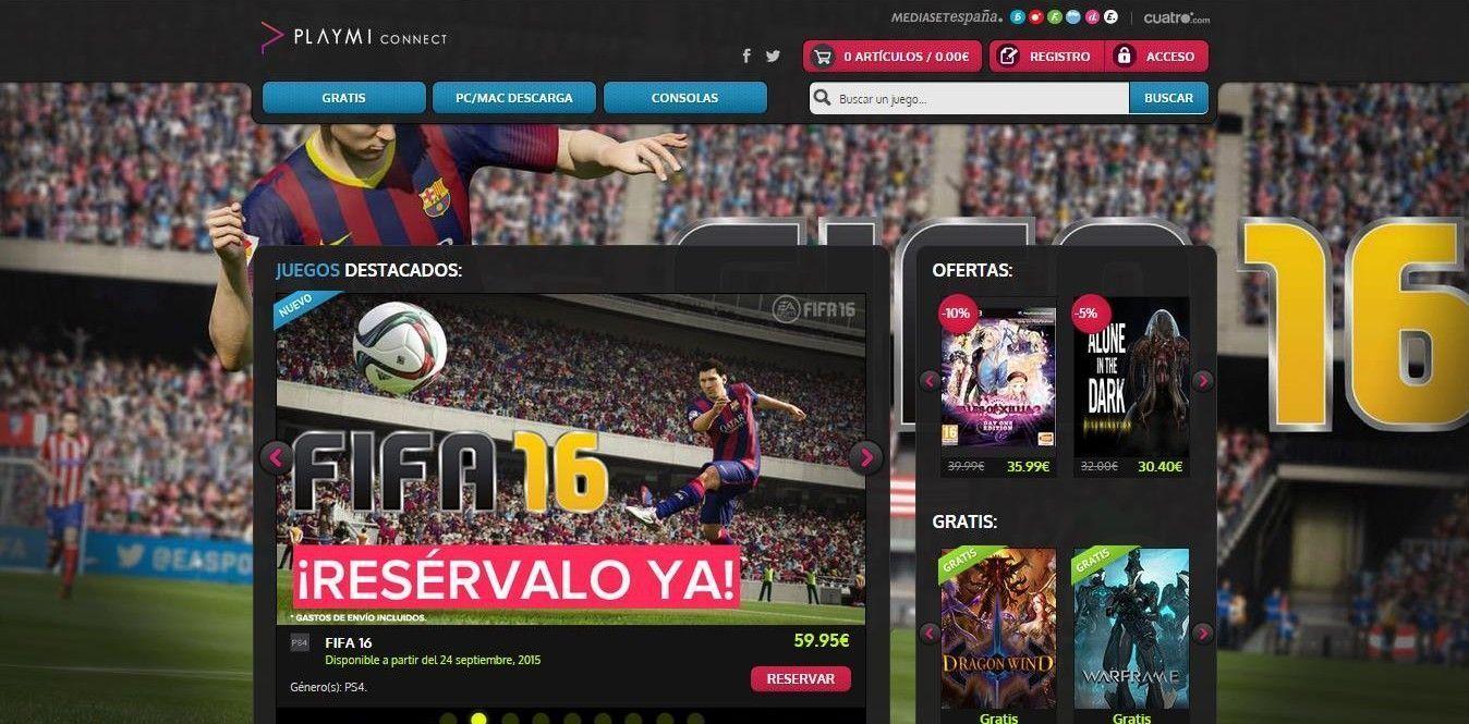 PlayMi, la web de videojuegos de More Than Game