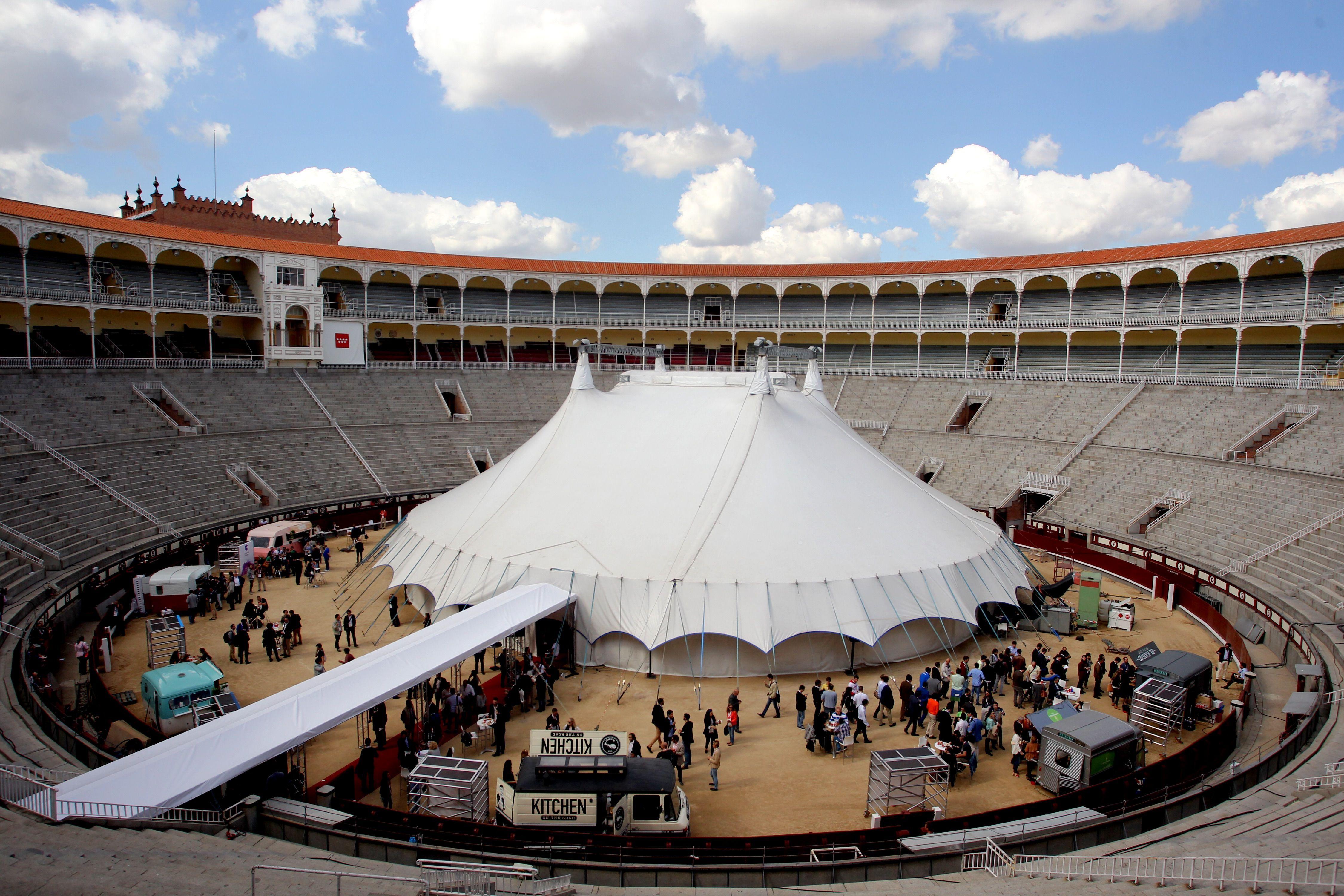 Arena Stage, situado en la Plaza de Toros de las Ventas de Madrid