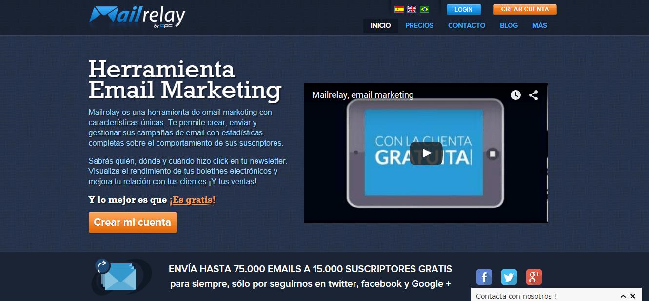 Mailrelay, plataforma de Email Marketing