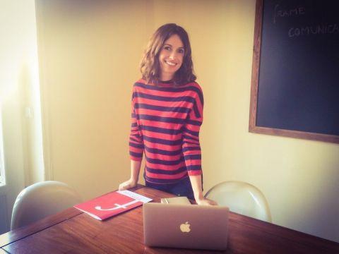 Elena Delgado, fundadora de Frame Comunicación