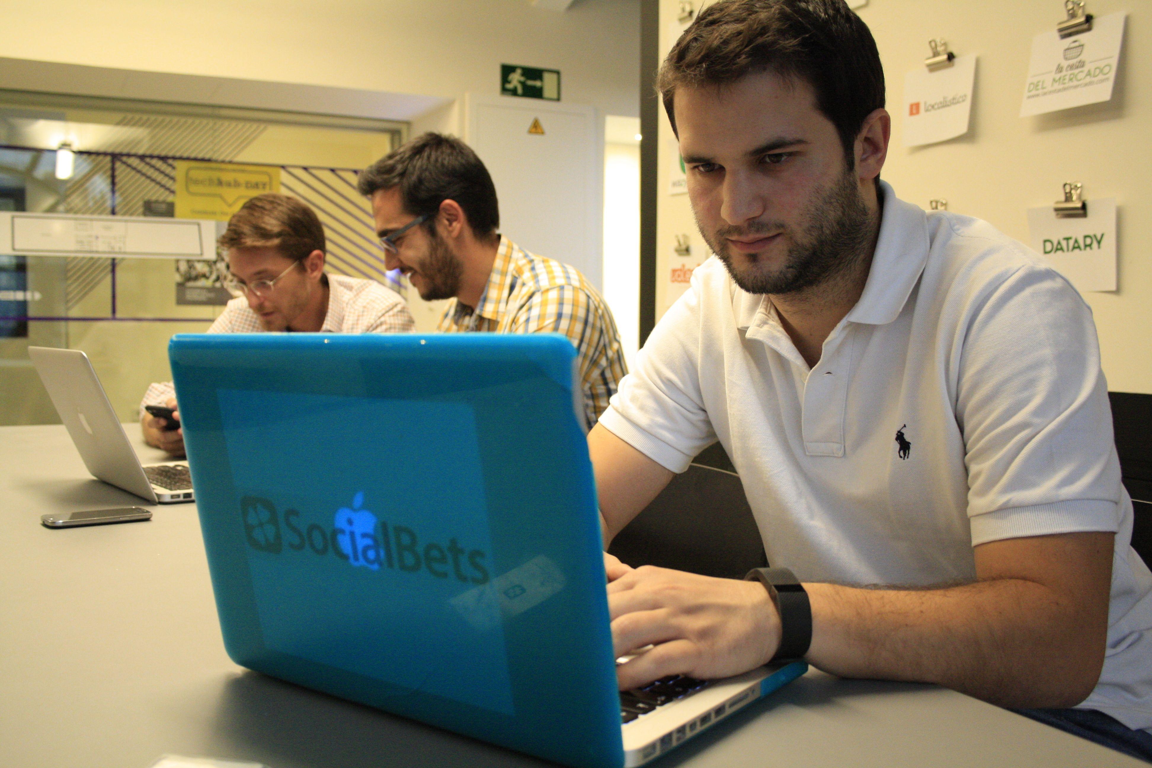 Marcos Alba, fundador de Socialbets