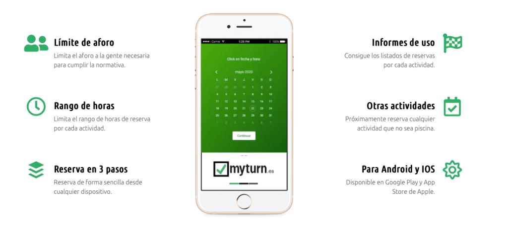 myturn, la App para Regular el Aforo en Piscinas Comunitarias
