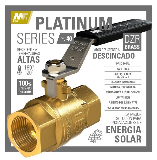 Nueva válvula MT PLATINUM SERIES PN40