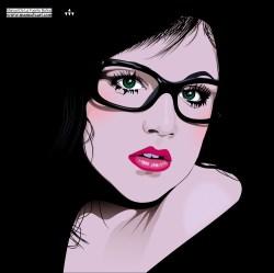 girl dark